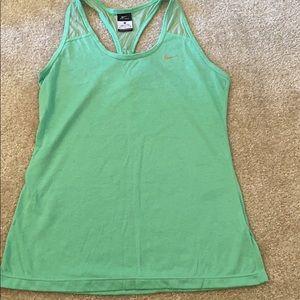 Nike Mint Green Tank sz M